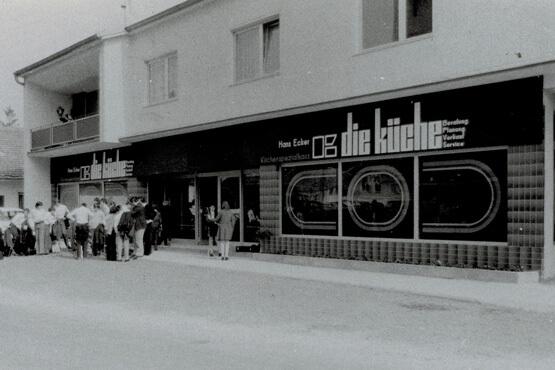 """Eröffnung """"die küche"""" Oberpullendorf 1973"""