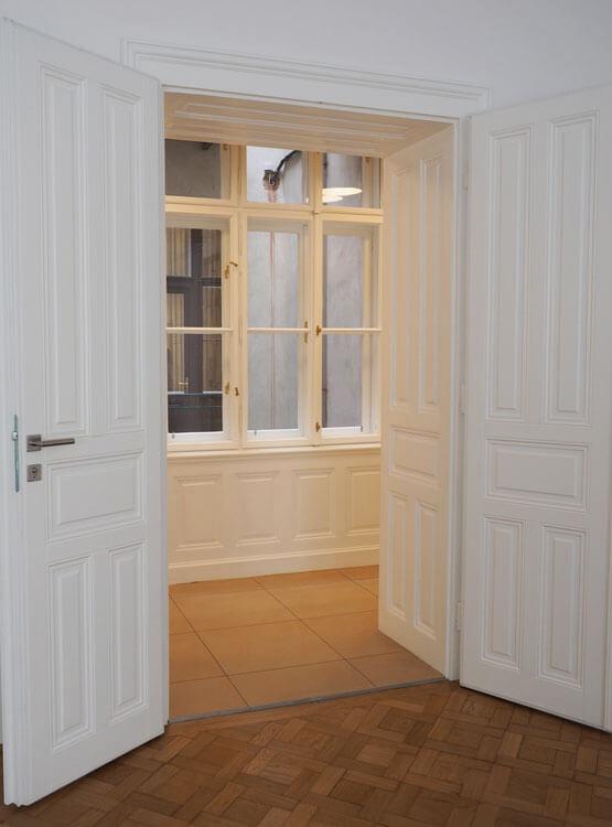 Renovierung Fenster Flügeltüre