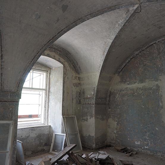 Renovierung und Sanierung Fenster vor Sanierung