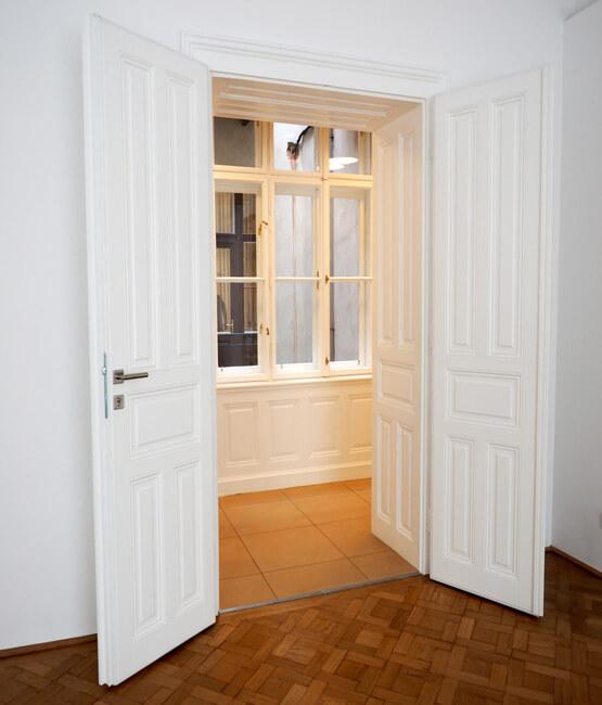 Sanierung Innentüren, Kastenfenster Wien