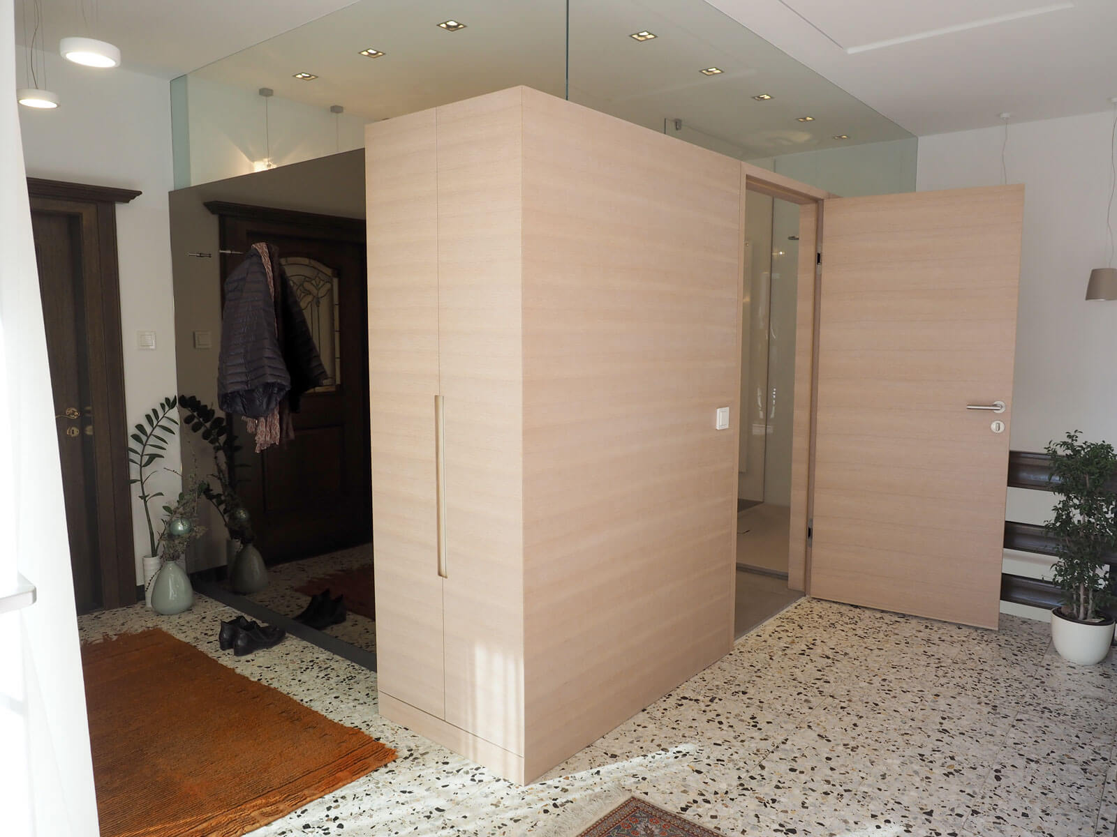 tischlerei ecker badezimmer in einer box tischlerei ecker wien raiding. Black Bedroom Furniture Sets. Home Design Ideas