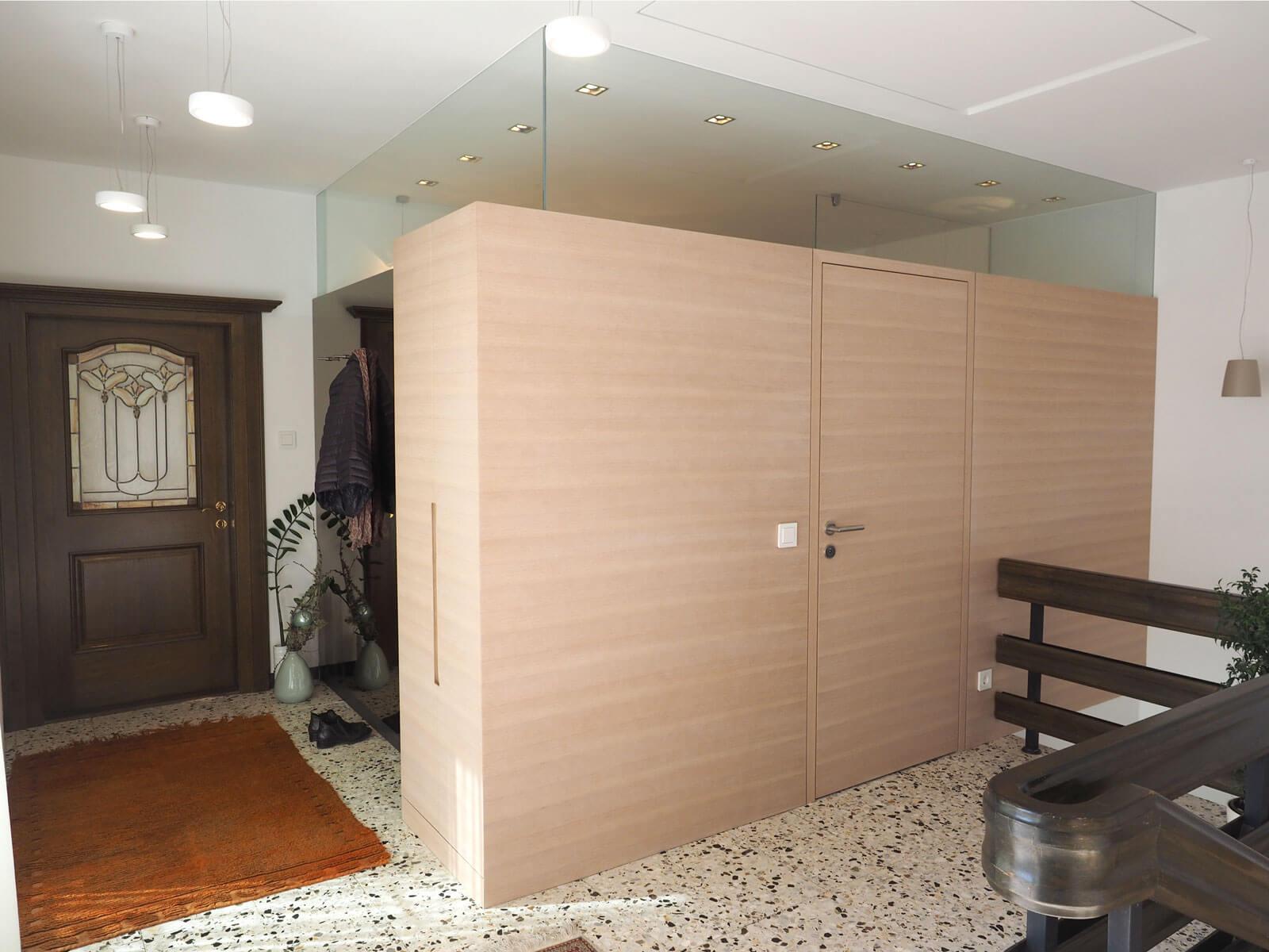 tischlerei ecker badezimmer in einer box. Black Bedroom Furniture Sets. Home Design Ideas