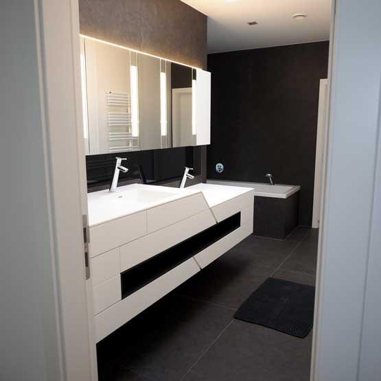 Badezimmer und Alibert modern
