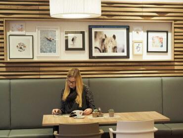 Betreutes Wohnen Raiding Sitzbank modern