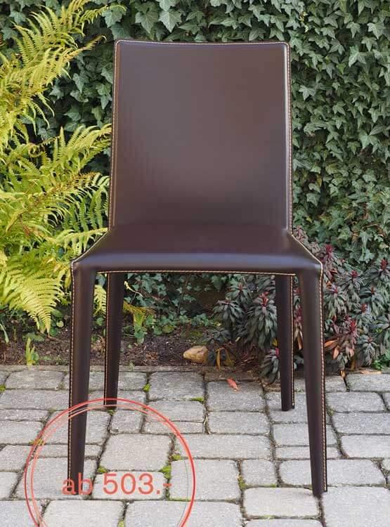 Moderne Stühle Norma Leder