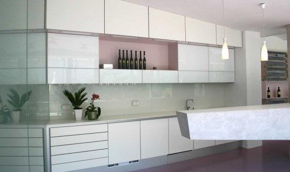 Küche weiß hochglanz modern