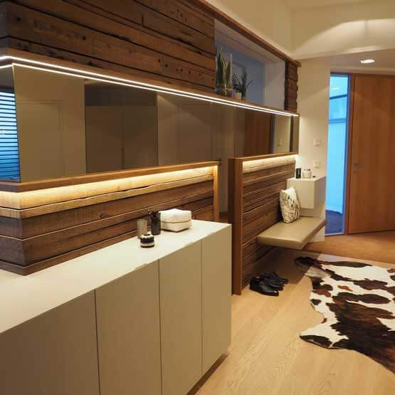 Vorzimmer Planung nach Maß modern