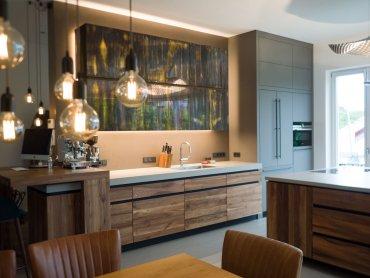 moderne Küche nach Maß Wien