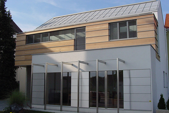 Spezial Fassade Laerchenholz Fassade, Alu Fassade