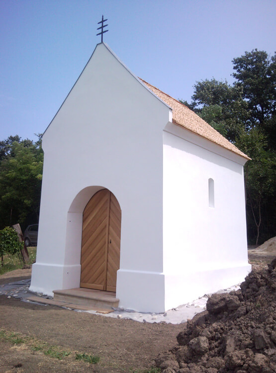 Renovierung Eingangstor Kapelle
