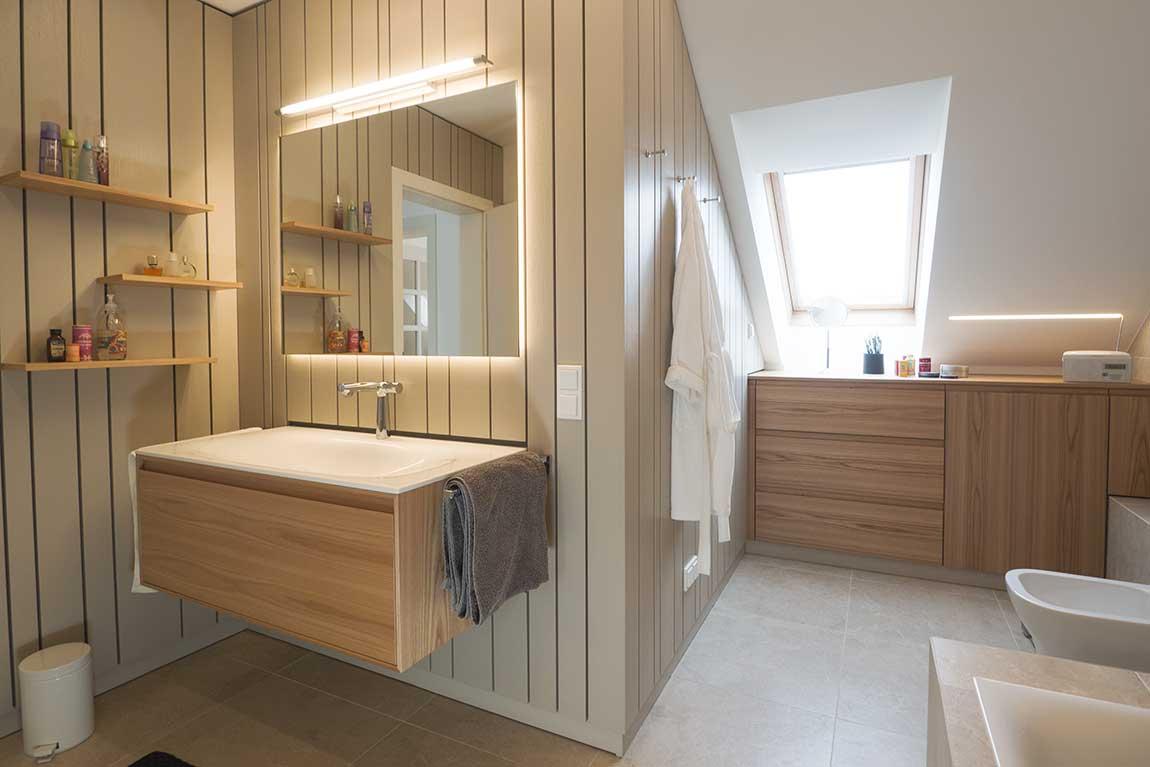 Innenarchitektur Badezimmer Umbau Gießhübl