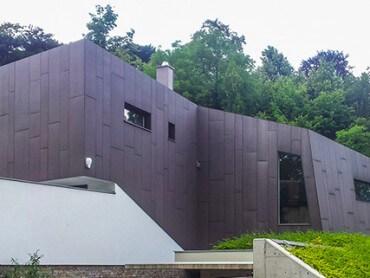 Spezial-Fassaden fibreC braun