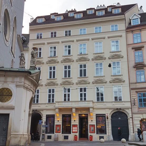 Fenstersanierung Wien Franziskanerplatz Kastenstockfenster