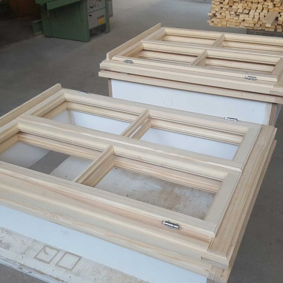 Kastenstockfenster Nachbau