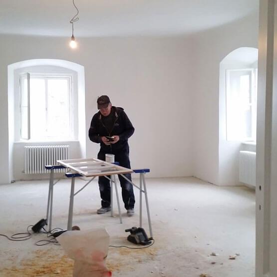Renovierung & Sanierung Fenster WU