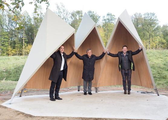 Markus Landauer, Richard Woschitz, Dominik Petz