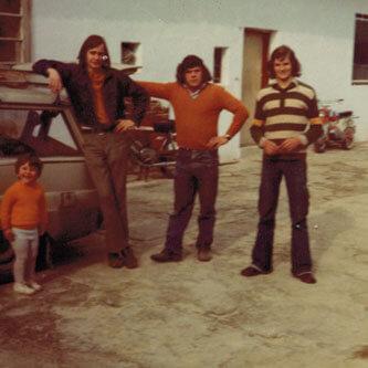 70er - lange Haare und Helden in Strumpfhosen