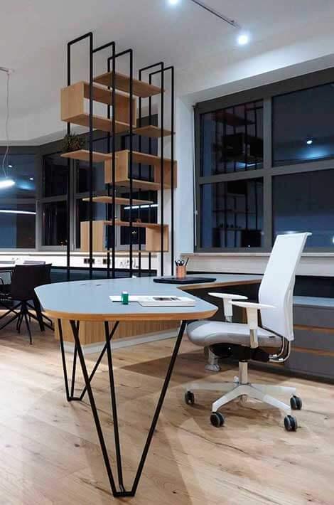 Büroumbau Wien Nachher Chefbüro