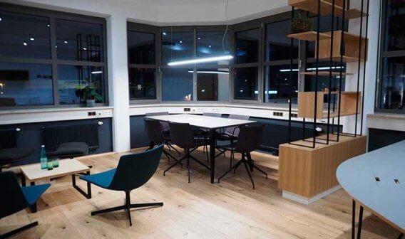 Büroumbau Wien Nachher