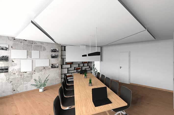 3D Planung Besprechungsraum
