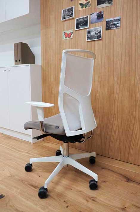 Bürostuhl weiß modern ergonomisch