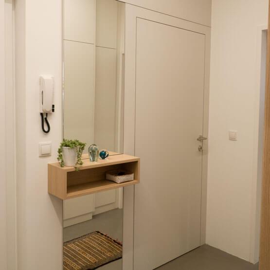 Kerakoll Design House handgemachte Oberflächen Türelement
